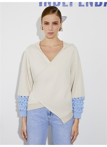 Nocturne Sweatshirt Bej